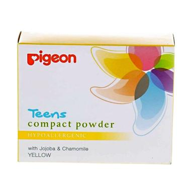Pigeon Teens Hypoallergenic Compact Powder - Yellow [20 g]