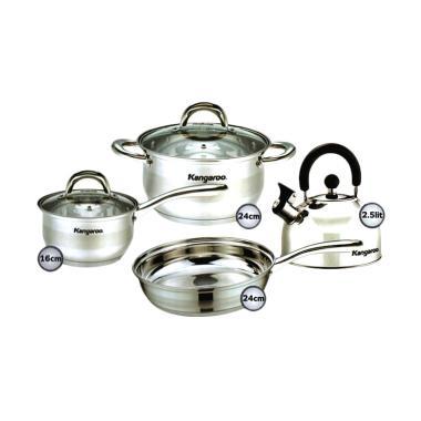 Kangaroo Kg998 5 Lapis Cookware Set Panci