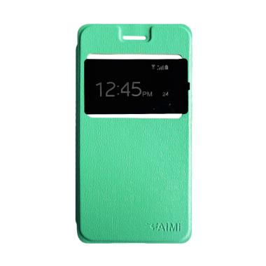 Aimi Flip Cover Flipshell Casing for Oppo Joy 3 or A11W - Tosca
