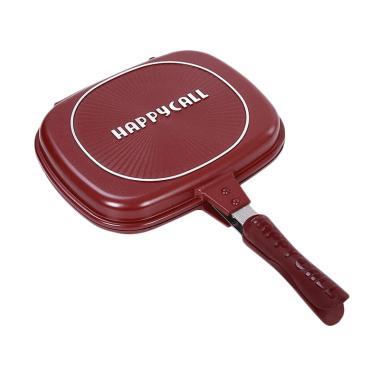 Oriental Happy Call Double Pan Jumbo - Red [32 cm]