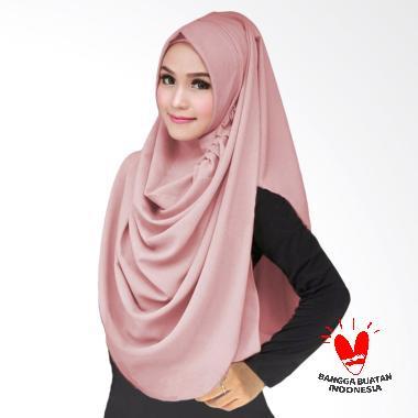 Milyarda Hijab LCB Kerudung Instant - dusty pink