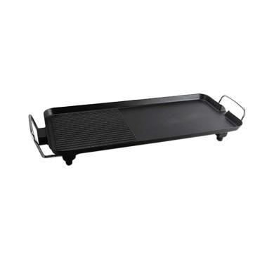 harga Oxone OX-137 Multi Function Flat Electric Grill Pan - Black Blibli.com