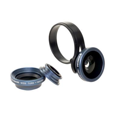 Polaroid CL3 3in1 Lensa Kamera Smartphone - Grey
