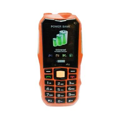 Jual Brandcode Dual SIM Handphone with Powerbank - Orange [10.000 mAh] Harga Rp 767000. Beli Sekarang dan Dapatkan Diskonnya.