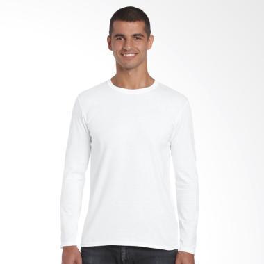 Jual Baju Kaos Polos Putih Lengan Panjang Terbaru Harga Murah Blibli Com
