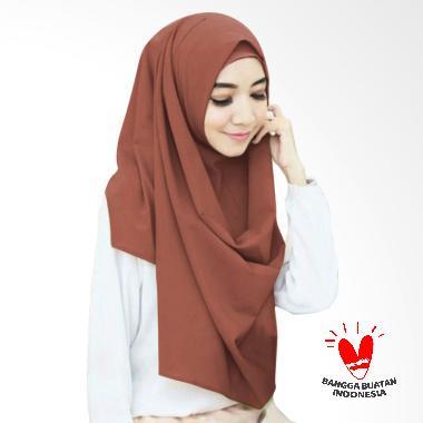 Milyarda Hijab Sella Pashmina Instant - Coklat Muda