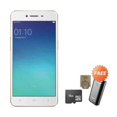 OPPO F1S Smartphone - Gold [32GB/ 3 ... rbank + MMC 16 GB + iRing
