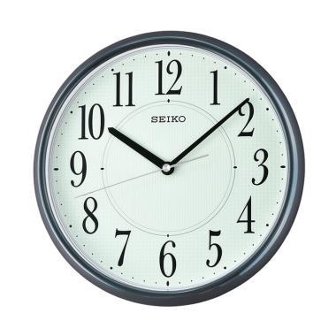 Seiko QXA671L Lumibrite Wall Clock Jam Dinding - Dark Grey [28 cm]