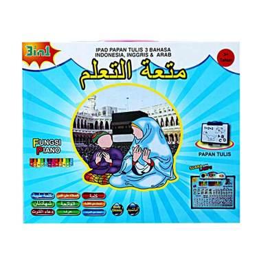 Theona.tata Playpad Anak Muslim Mainan Edukasi 3 Bahasa