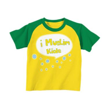 Aitana AiK-16-007 iMuslim Kids Kaos Muslim Anak Laki Laki - Kuning