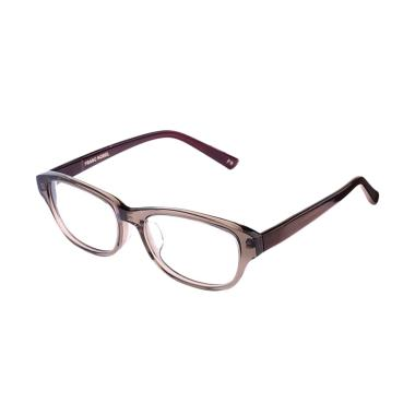 Franc Nobel 041520 Unisex Paul Goshenite Ash Kacamata - Brown