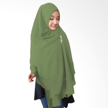 Kus Group Hijab Oki Panjang Kerudung Syar'I - Olive