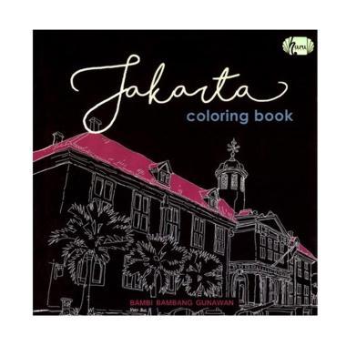Haru Jakarta Coloring Book by Bambi Bambang Gunawan Buku Mewarnai