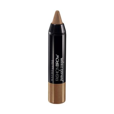 HEMAT..!!! Maybelline Fashion Brow Pomade Crayon Eyebrows – BR3 Cappucino Terbaik