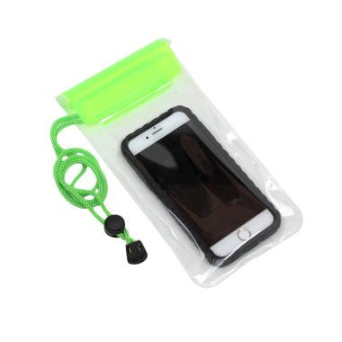 G-Smart Clear Waterproof Pouch for Smartphone - Hijau