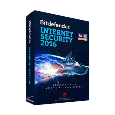 Bitdefender Internet Security 2016 Software [1 Year / 1PC]