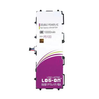 Log On Double Power & IC Battery for Samsung Tablet P5100 [10000 mAh]