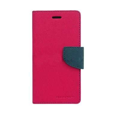 Mercury Fancy Diary Casing for Oppo N1 Mini N5111 - Magenta Biru Laut