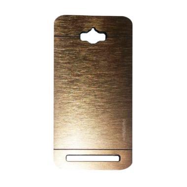 Motomo Metal Hardcase Casing for Asus Zenfone Max ZC550KL - Gold