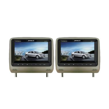 Audiobank AB-767DVD-TV Headrest DVD-TV Monitor - Beige [7 Inch]