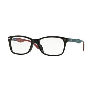 Ray-Ban RX5228F Vista Optical Demo  ... ta - Black [Size 55] 5544
