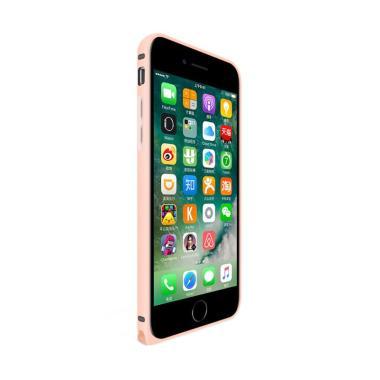 Love Mei Metal Bumper Casing for iPhone 7 4.7 Inch - Rose Gold