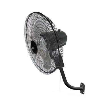 Maspion PW456W Power Fan Kipas Angin Dinding - Hitam [18 Inch]