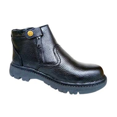 Mandien's Dien Safety B.Keen KR.4 Sepatu Boots Pria - Hitam