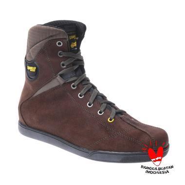Ducati Scrambler Cross Country High Cut Boots - Brown