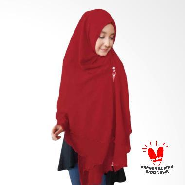 Hijabku Murah Oki Panjang Kerudung Syar'i - Maroon