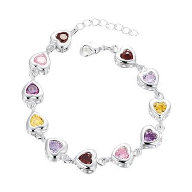 Bella & Co Bracelet LKNSPCH368 Aksesoris Gelang Lapis Silver