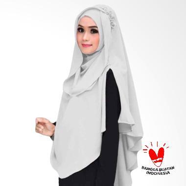 Kus Group Hijab Oki Panjang Kerudung Syar'I - Putih