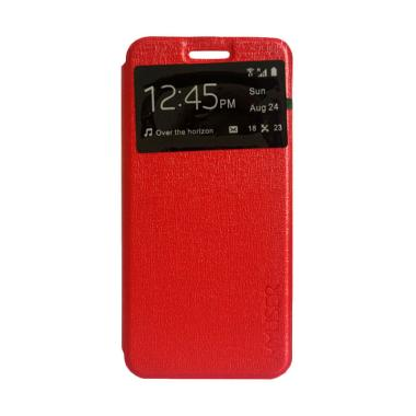 MyUser Flip Cover Casing for Samsung Galaxy A7 2017 - Merah