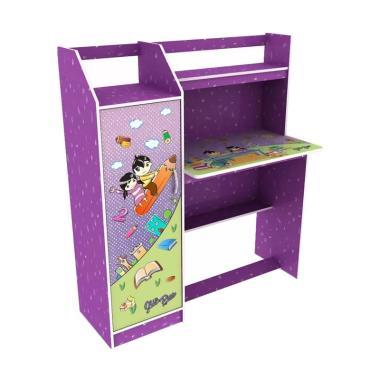Olympic MBB0110558 Meja Belajar Anak - Purple [Khusus Area Jadeta]