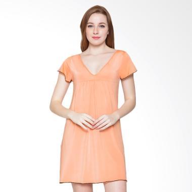 Sexy Sleep SS118 Nightgown Harper Sleepwear - Peach