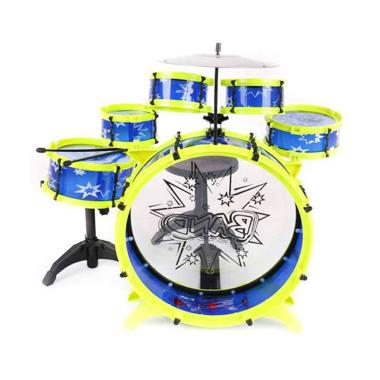TSH Big Band Drum Set Mainan Edukasi - Multi Colour