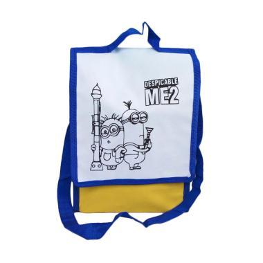 Unique Spunbag Drawing Despicable Me 2 Goodie Bag - Biru [1 pcs]