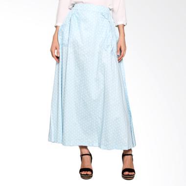 Imani Volka Cotton Skirts IB-SMA-16 Bawahan Muslim - Baby Blue