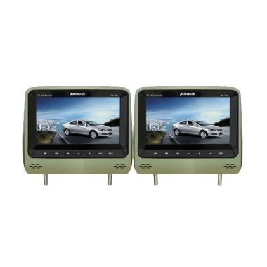 Audiobank AB-767DVD-TV Headrest DVD-TV Monitor - Mocca [7 Inch]