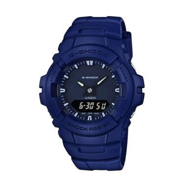 CASIO G-SHOCK G-100CU-2A Limited Edition Jam Tangan Pria - Matte Blue