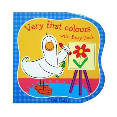 harga Genius Very First Colours With Busy Duck Buku Edukasi Anak Biru Muda Blibli.com