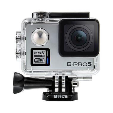 Brica B-PRO 5 Alpha Plus Edition Full HD 2.5K Action Camera - Silver