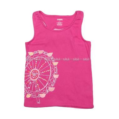 Gymboree Tank Glitter Baju Atasan Anak Perempuan - Pink