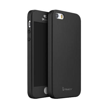Ipaky 360 Full Protective Hardcase Casing for iPhone 5G - Hitam
