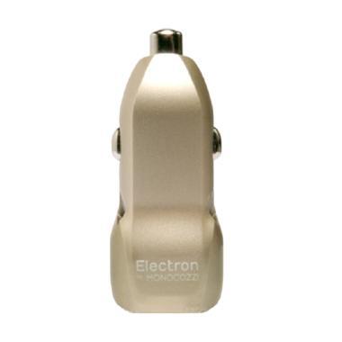 Monocozzi Automotive Dual USB Car Charger - Gold [3.4 A]