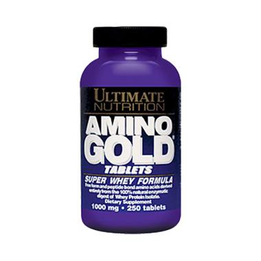 Ultimate Nutrition Amino Gold Suplemen [250 Tablet]