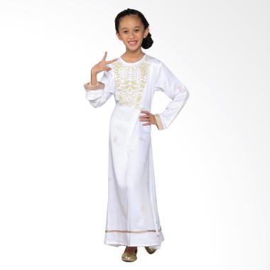 Versail Kids Junior R 1103 Gamis Gl ... im Anak Perempuan - White