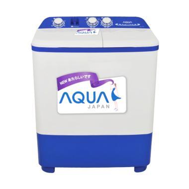 Aqua QW-771XT Mesin Cuci [2 Tabung/7 kg/Khusus Jadetabek]
