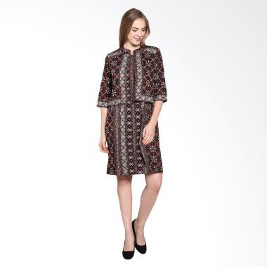 Batik Pria Tampan Wdr34-04081601p Women Soga Dress - Teak