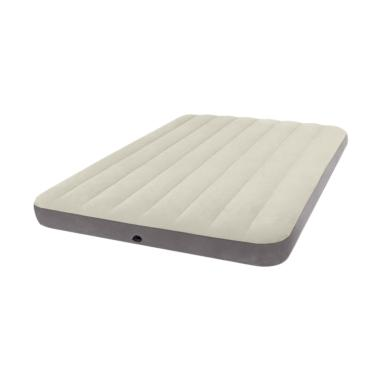 Intex 64708 Full Deluxe Singlehight Airbed Kasur Angin - Grey
